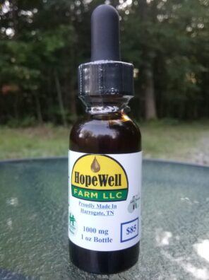 HopeWell Farm 1000mg Hemp CBD Oil