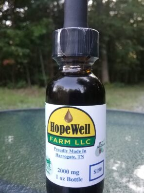 Hope Well Farms 2000mg Hemp CBD Oil