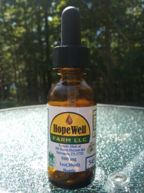 HopeWell Farms 500mg hemp