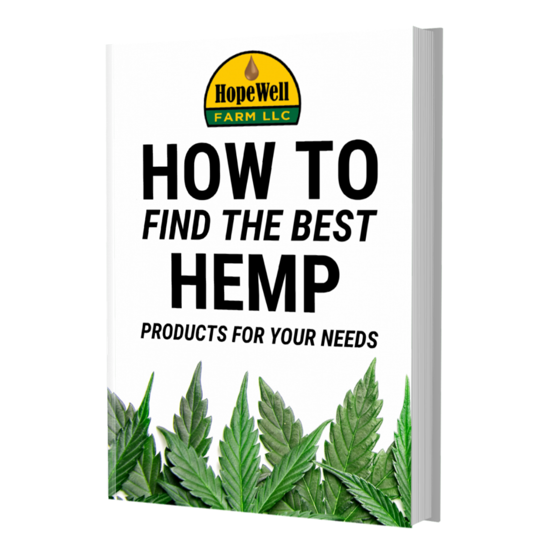 Free Hemp Ebook - How To Find The Best Hemp Products For Your Needs