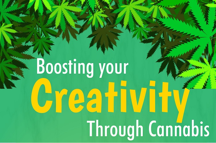 Boosting Your Creativity Through Cannabis – An Infographic