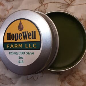 Hemp CBD Topical Salve 1oz