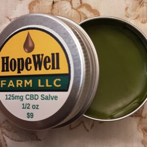 Hemp CBD Topical Salve 1/2oz